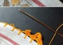 Patrones de puntillas de ganchillo faciles para decorar