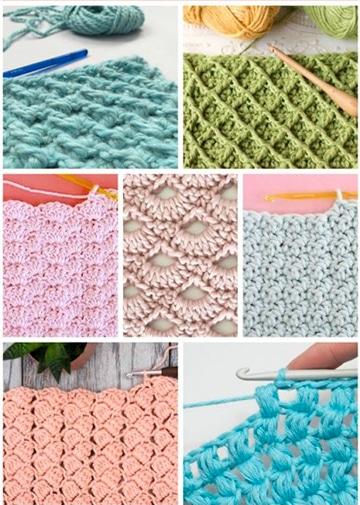puntos basicos de crochet para principantes