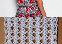 Imagenes con faciles puntos calados a crochet