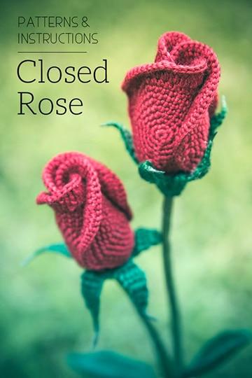 rosas tejidas a crochet patrones para descargar