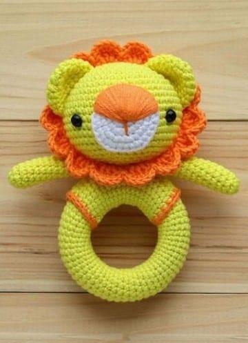 sonajeros de ganchillo crochet
