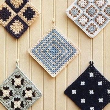 agarraderas a crochet paso a paso modelos