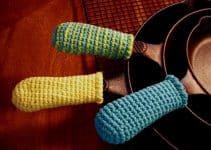 Decorativas agarraderas a crochet paso a paso