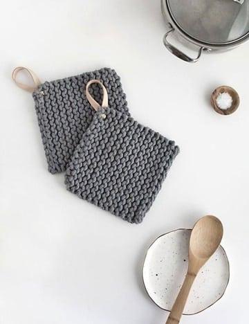 agarraderas a crochet paso a paso tejidas