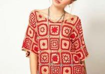 Estilos modernos de blusas en crochet para dama