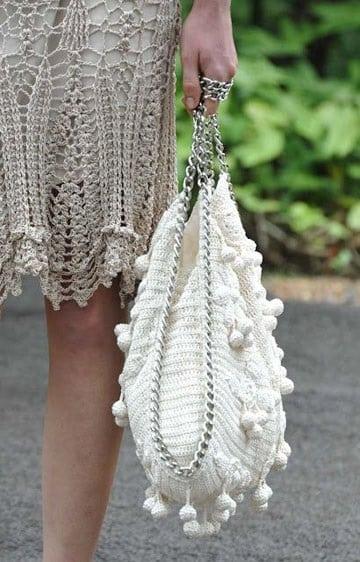 bolsos de trapillo originales blanco