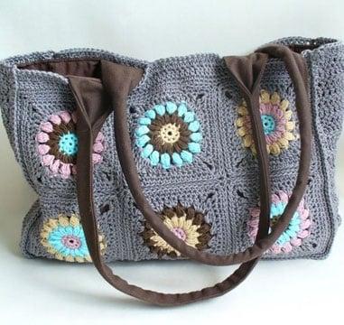 bolsos de trapillo originales de colores