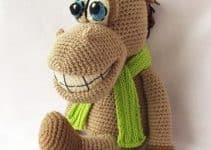 Nada más adorable que los caballos tejidos a crochet