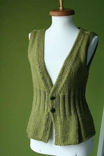 chalecos tejidos a crochet utilisima a mano