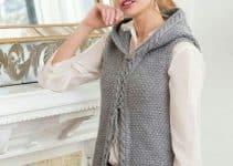 Las mejores ideas de chalecos tejidos a crochet utilisima