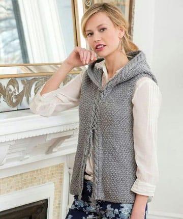 chalecos tejidos a crochet utilisima largo