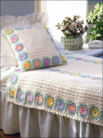 colchas de crochet paso a paso clasica
