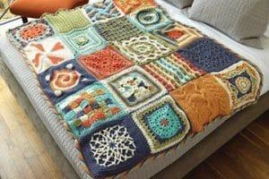 Los más dulces sueños: colchas de crochet paso a paso