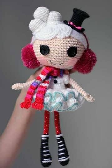 como hacer muñecos de crochet faciles