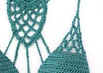 Querrás saber como hacer trajes de baño tejidos