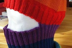 Imperdible para invierno: como hacer un pasamontañas