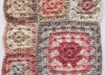 Aprende como tejer cuadrados a crochet facilmente