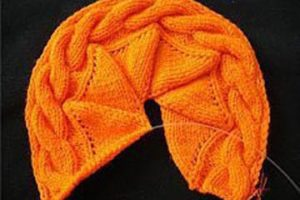 Si sabes como tejer gorros con dos agujas, mira esto!