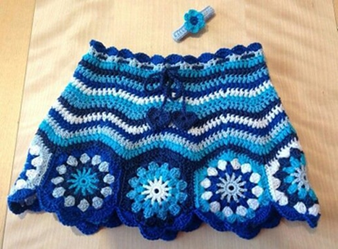 faldas tejidas para niña crochet (1)
