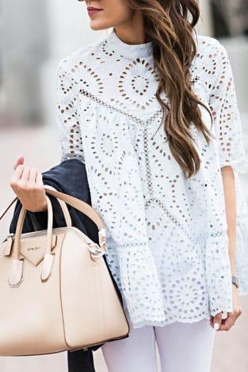 imagenes de blusas tejidas a crochet