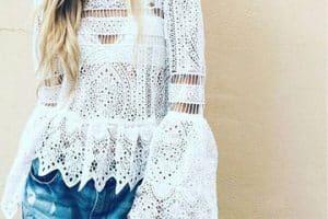 Las más soñadas imagenes de blusas tejidas a mano