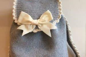 Los patrones de mochilas tejidas a crochet que todas quieren