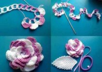 Amarás estas rosas tejidas a crochet paso a paso