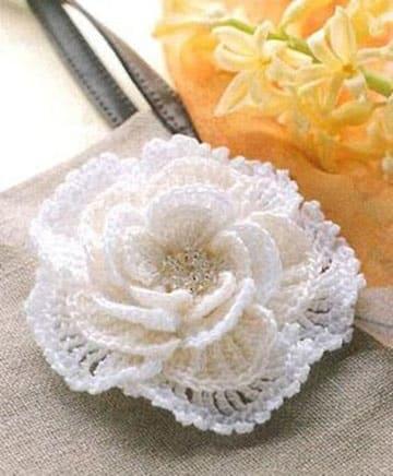 rosas tejidas a crochet paso a paso modelo