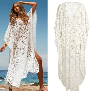 salidas de playa tejidas a crochet paso a paso