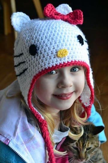 sombreros tejidos para niña crochet