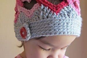 Elabora los más tiernos sombreros tejidos para niña