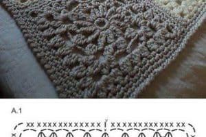 Originales tejidos de tapetes a crochet paso a paso