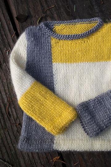 tejidos a palillos para niños chompa