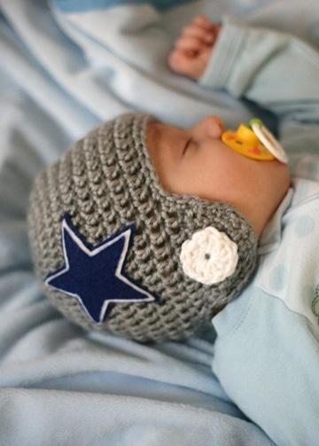 tejidos para bebes varones gorros
