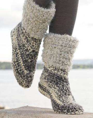 zapatos tejidos a gancho para dama crochet