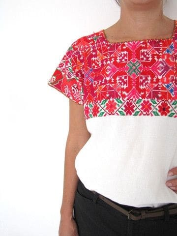 blusas bordadas yucatecas 2015