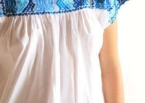 Contágiate de tradición por las blusas bordadas yucatecas