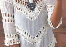 Bellas blusas campesinas modernas para todos los gustos