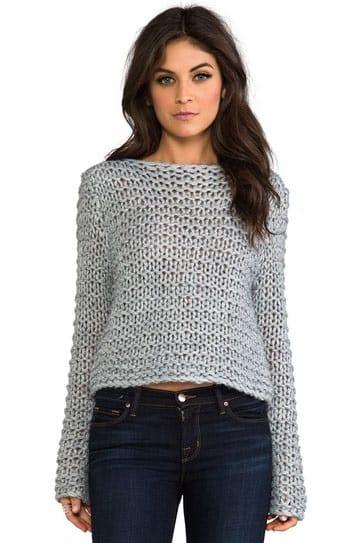 blusas tejidas a mano de moda