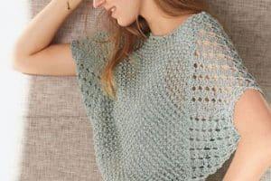 Las mejores ideas de blusas tejidas a mano