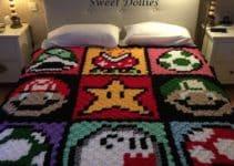 Unas colchas de crochet faciles y divertidas