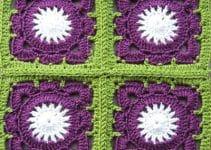 Ideas de como hacer cuadrados al crochet para tu hogar