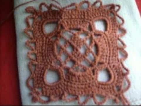como hacer cuadrados al crochet paso a paso