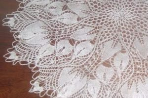 Aprende como hacer tapetitos a crochet para decorar