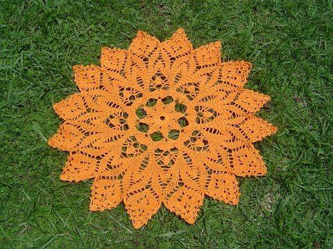 como hacer tapetitos a crochet faciles