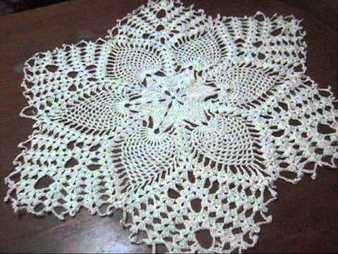 como hacer tapetitos a crochet modelo
