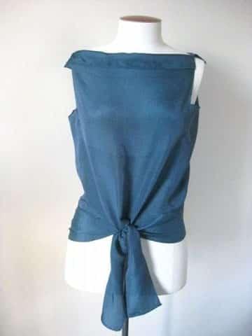como hacer una blusa sencilla facil