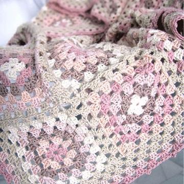 cuadrados a crochet para colcha faciles