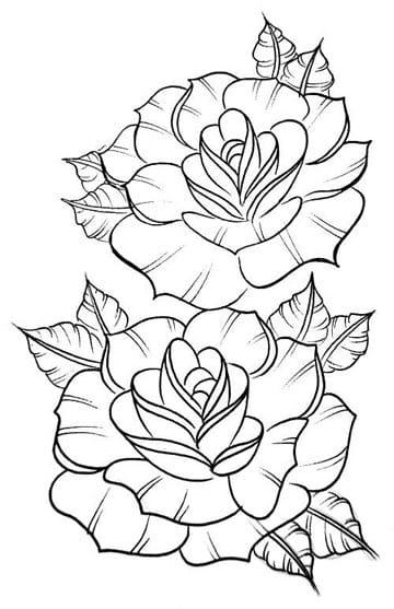 dibujos de flores para bordar a punto de cruz