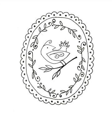 dibujos para bordar a mano gratis de aves